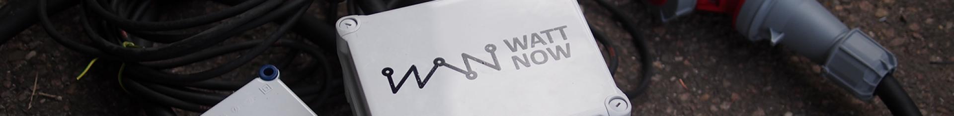 Watt-Now || Efficiente stroom voor evenementen